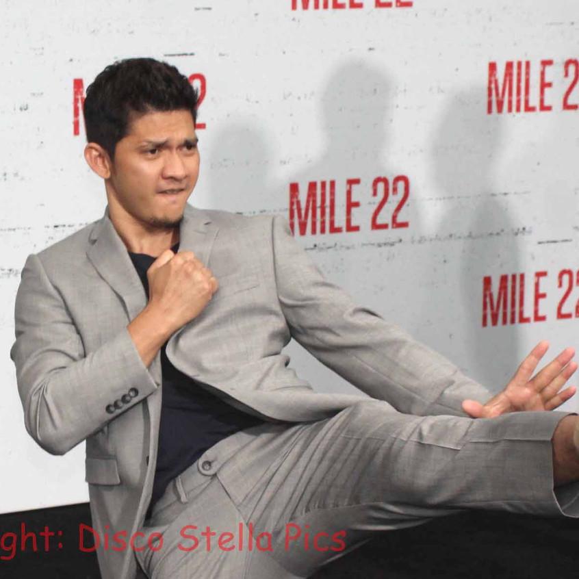 Iko Uwais- Actor - Cast of Mile 22 actio