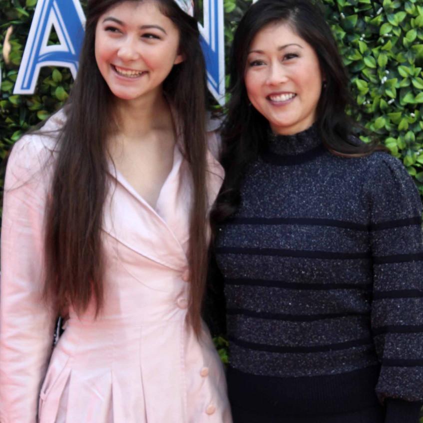 Kristi Yamaguchi with guest