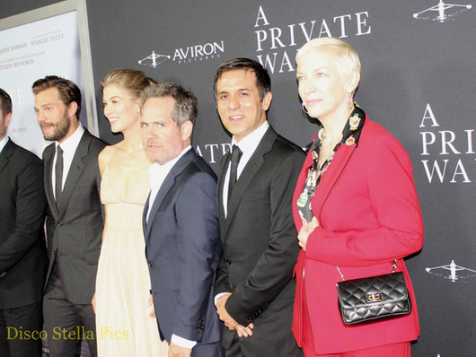 A Private War Movie Premiere by Aviron Pictures.