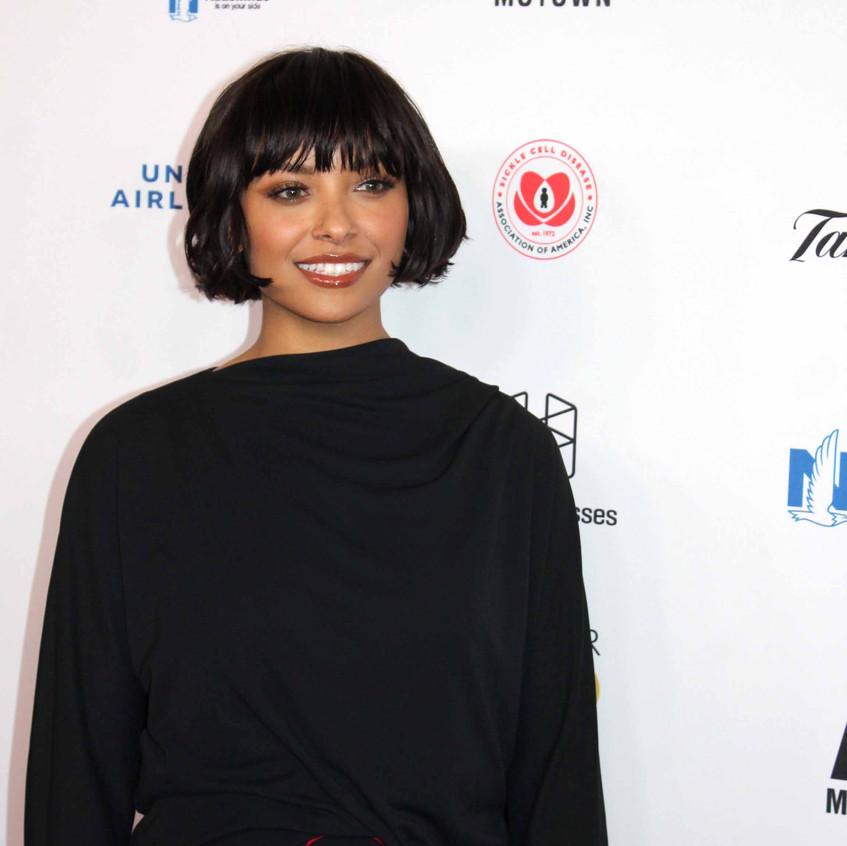 Kat Graham - Actress - on the carpet