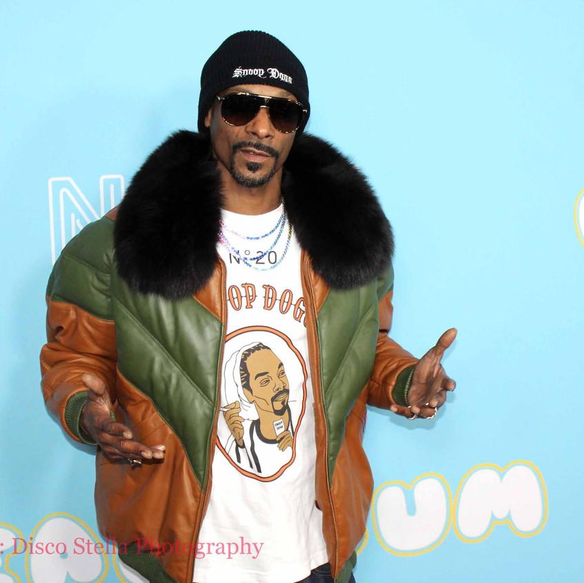 Snoop Dog - Rapper - Cast The Beach Bum.