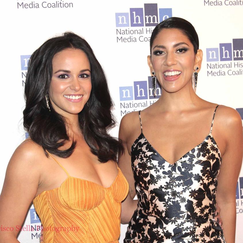 Melissa Fumero and Stephanie Beatriz - E
