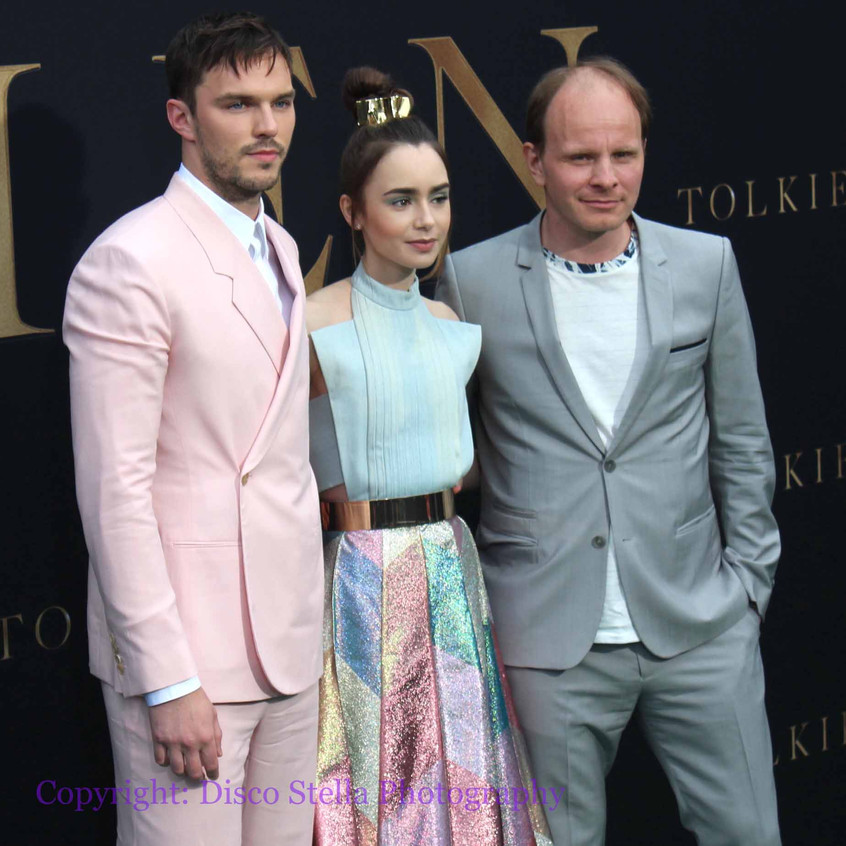 Nicolas Hoult - Lily Collins and Dome Ka