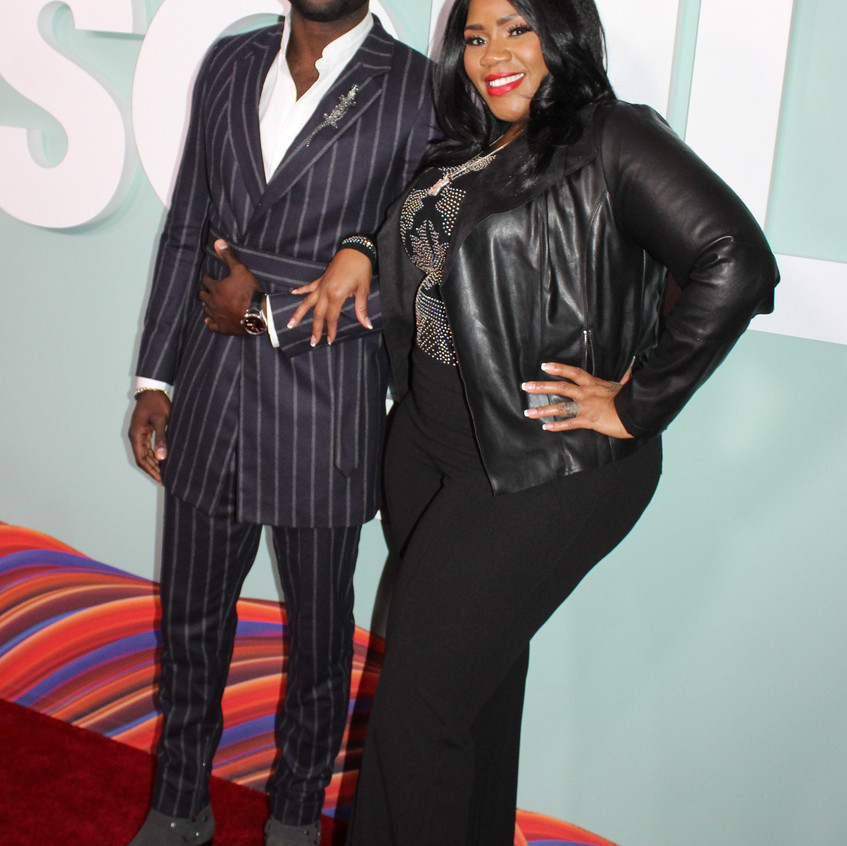 Sinqua Walls and Kelly Price