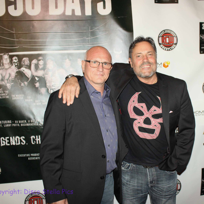 Fulvio Cecere- Director of 650 Days - Jerry Rector- Actor - Director