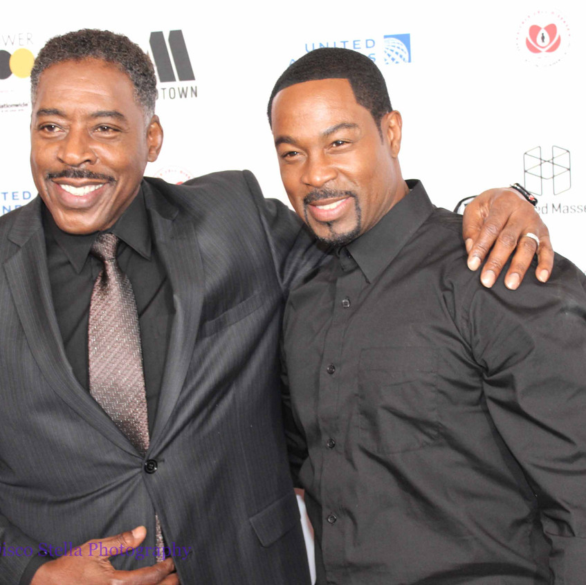 Ernie Hudson with Guest