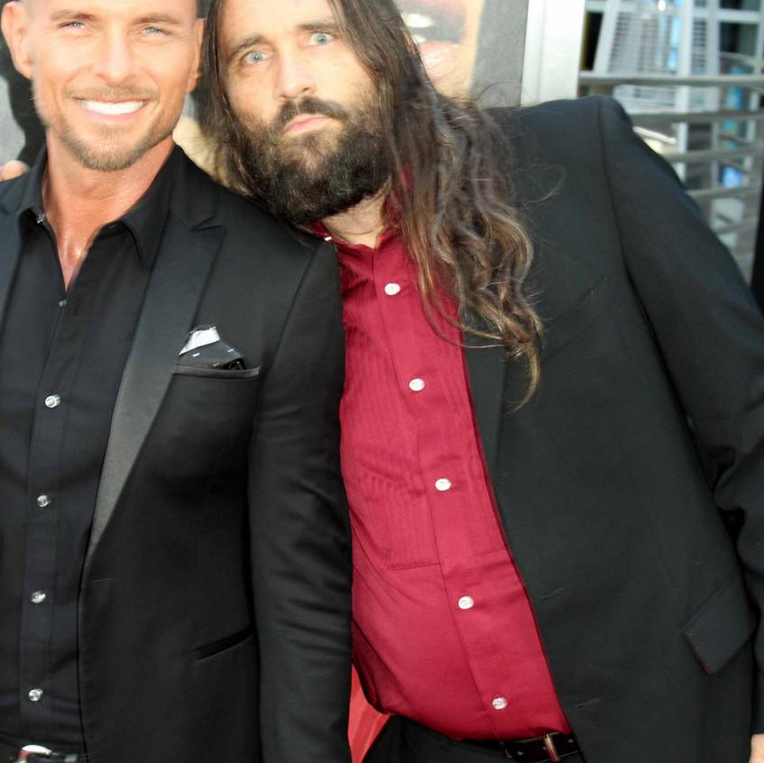 Luke Goss and Lorin McCraley- Traffik Cast Actors
