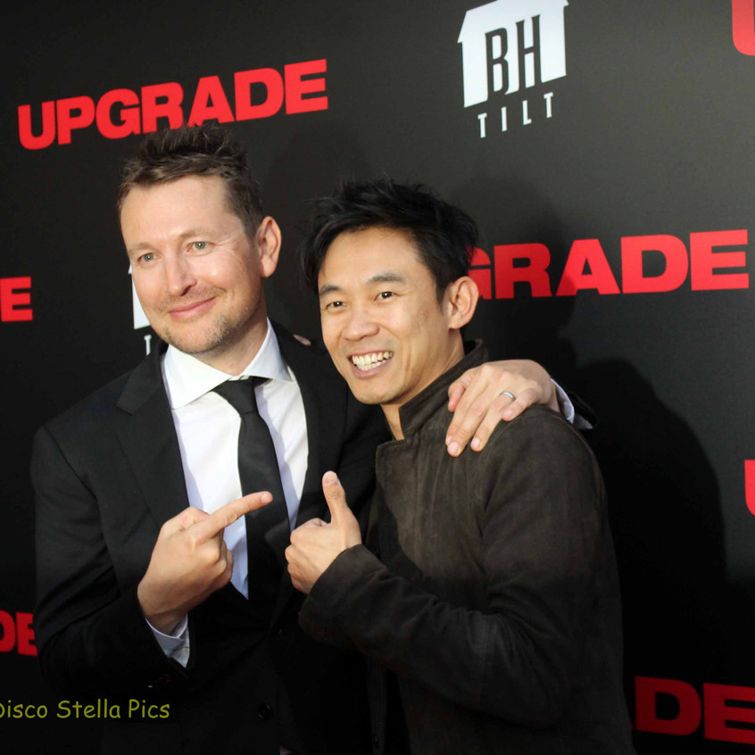 Leigh Whannell and James Wan (Director)