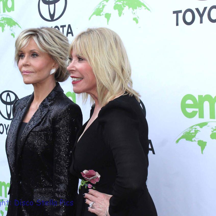 Jane Fonda-Actress (Book Club) and Debbie Levin