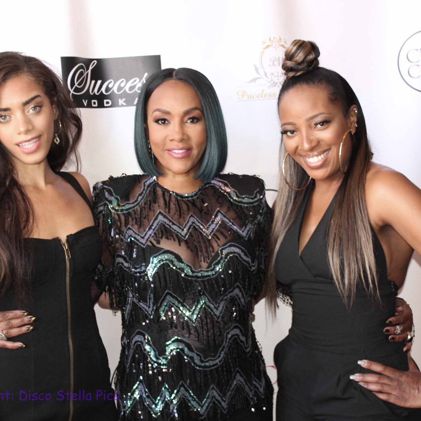 Vivica Fox - Actress with friiends