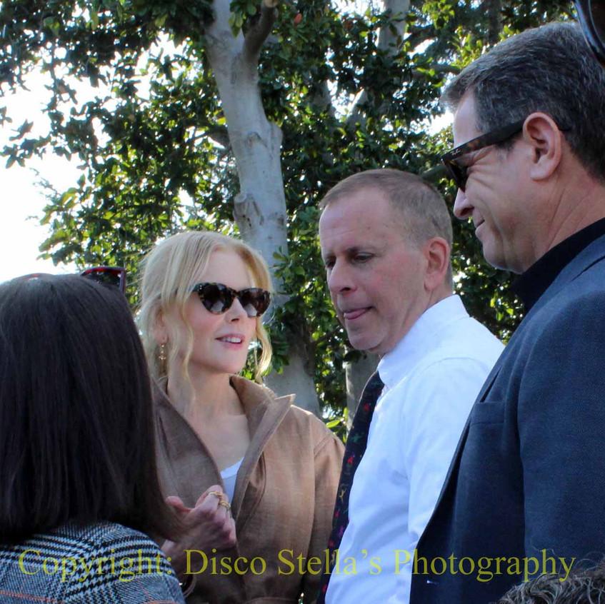 Nicole Kidman with guests