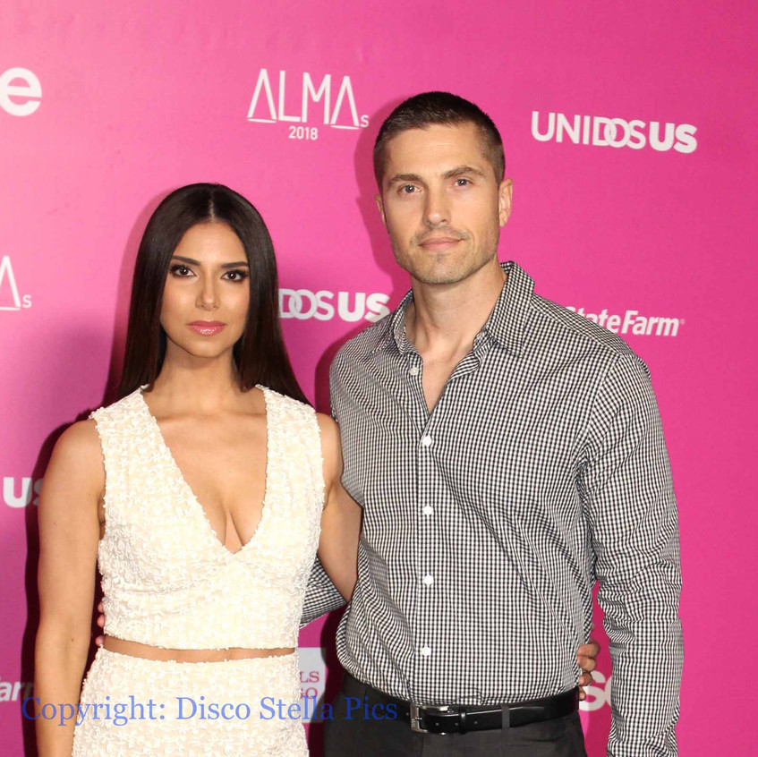Roselyn Sanchez - Actress and Eric Winte