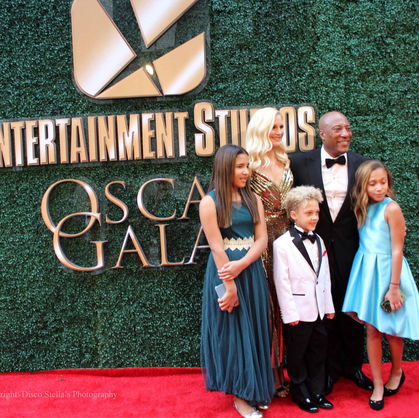 Byron Allen- Jennifer Lucas with guests.