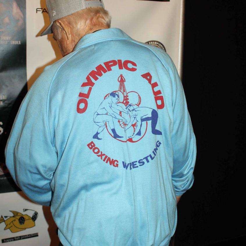 Gene LeBell- American Martial Artist-back of shirt