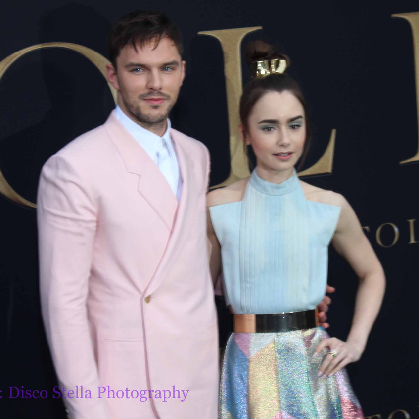 Nicholas Hoult and Lily Collins - Cast