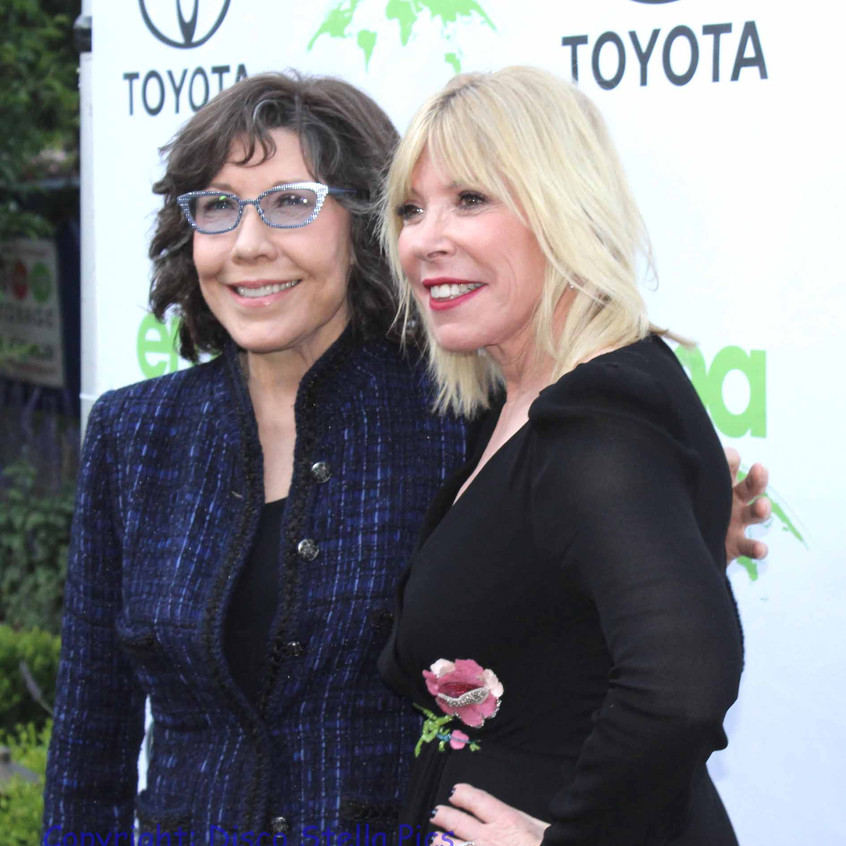 Lily Tomlin- Actress with Debbie Levin