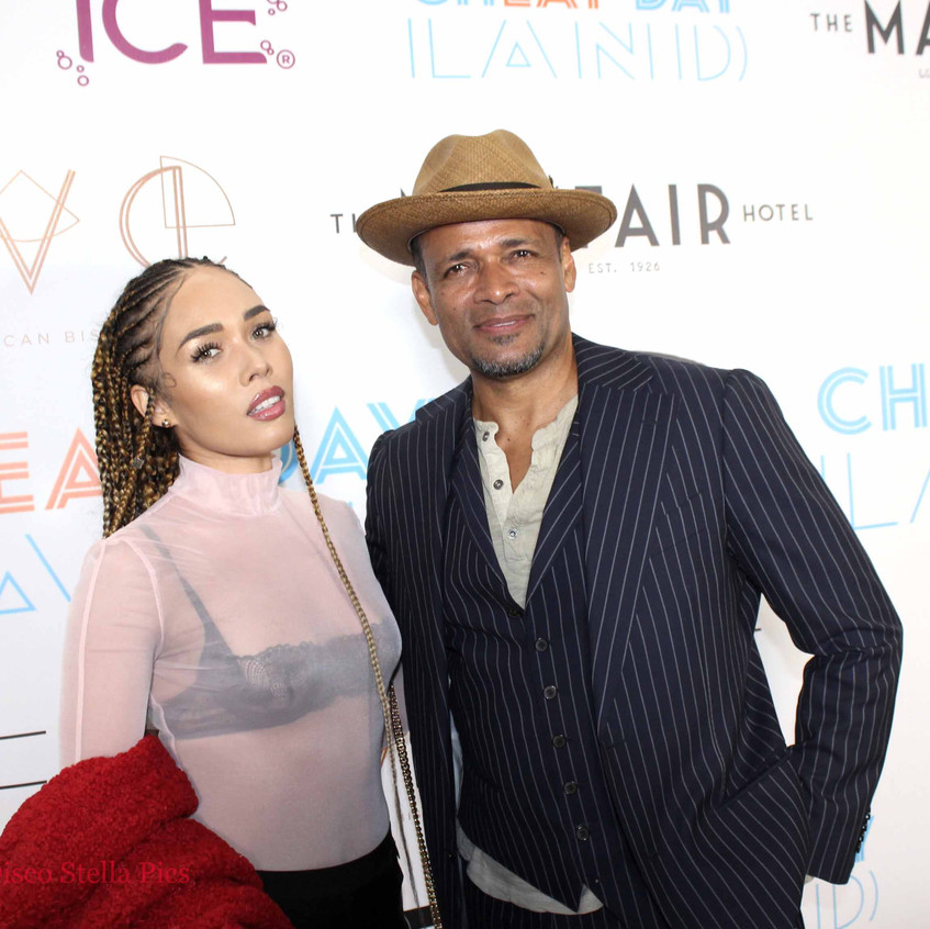 Mario Van Peebles with guest