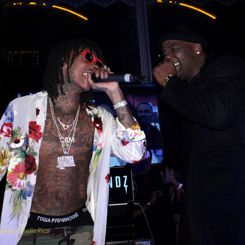 Wiz Khalifa - Rapper and Glen Davis- Veteran NBA Player. 5