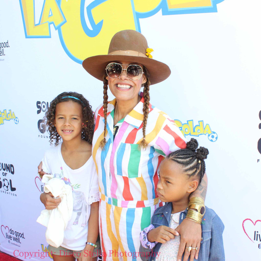 Cree Summer - Actress with guests...