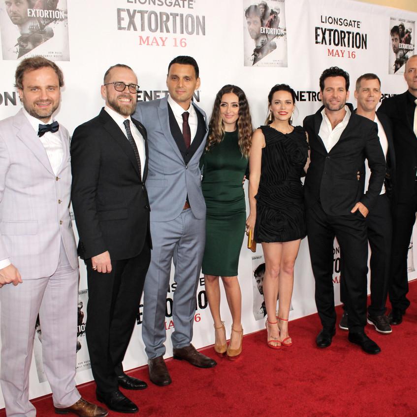 Director Phil Volken with Casts