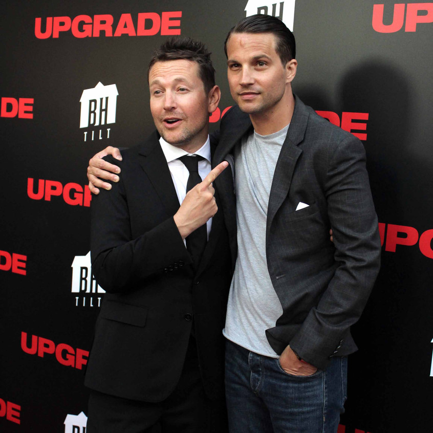 Leigh Whannell - Director and Logan Marshall-Green- Actor- UPGRADE