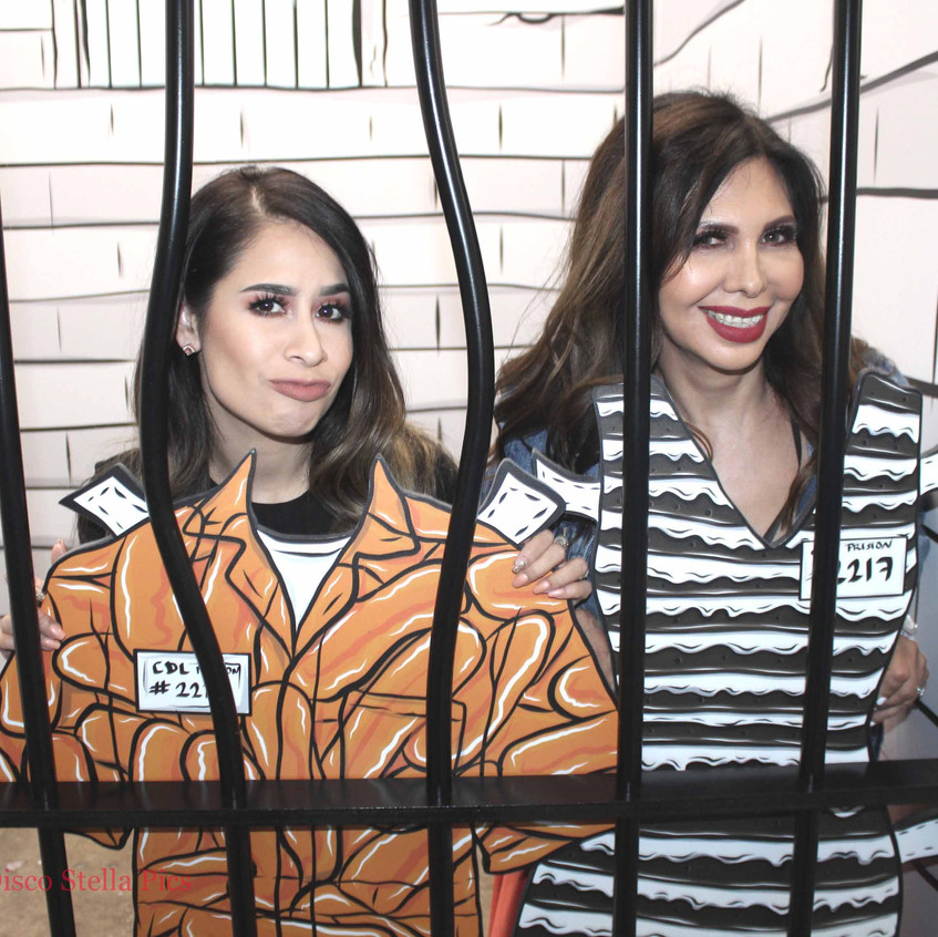Jail Pop Art with guests