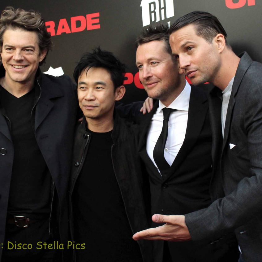 Jason Blum, James Wan, Leigh Whannell and Logan Mashall-Green  3