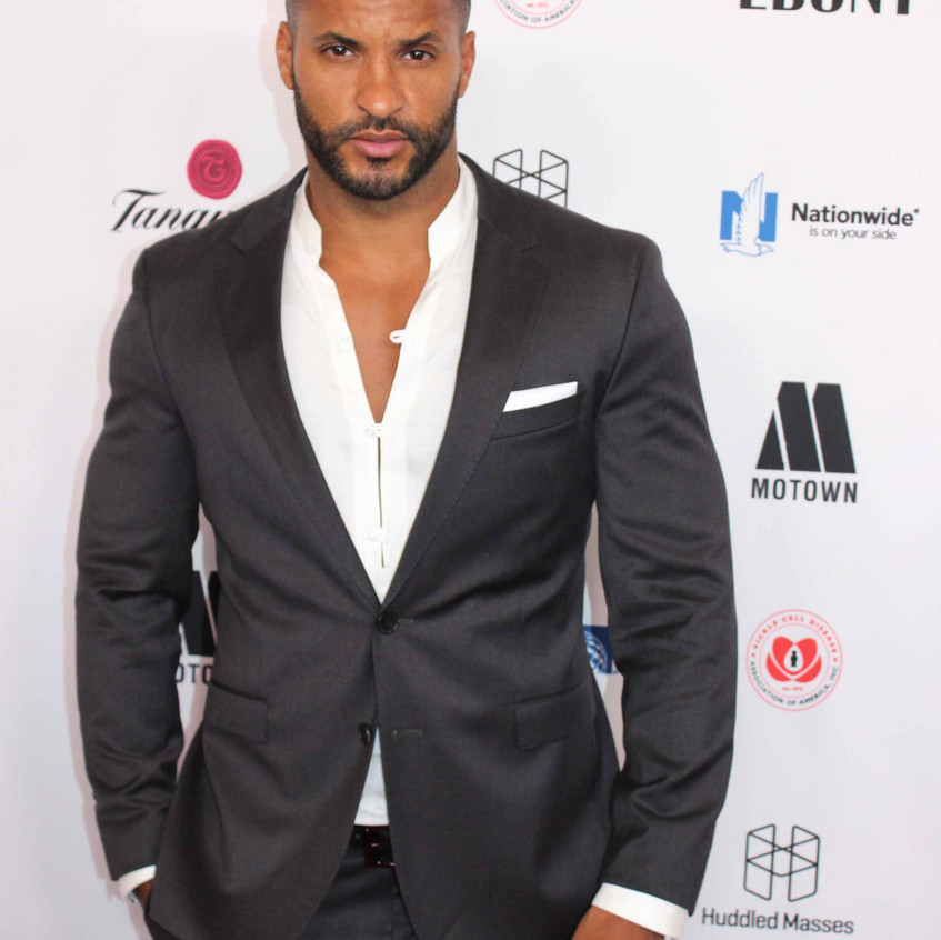Ricky Whittle - Actor - on the carpet