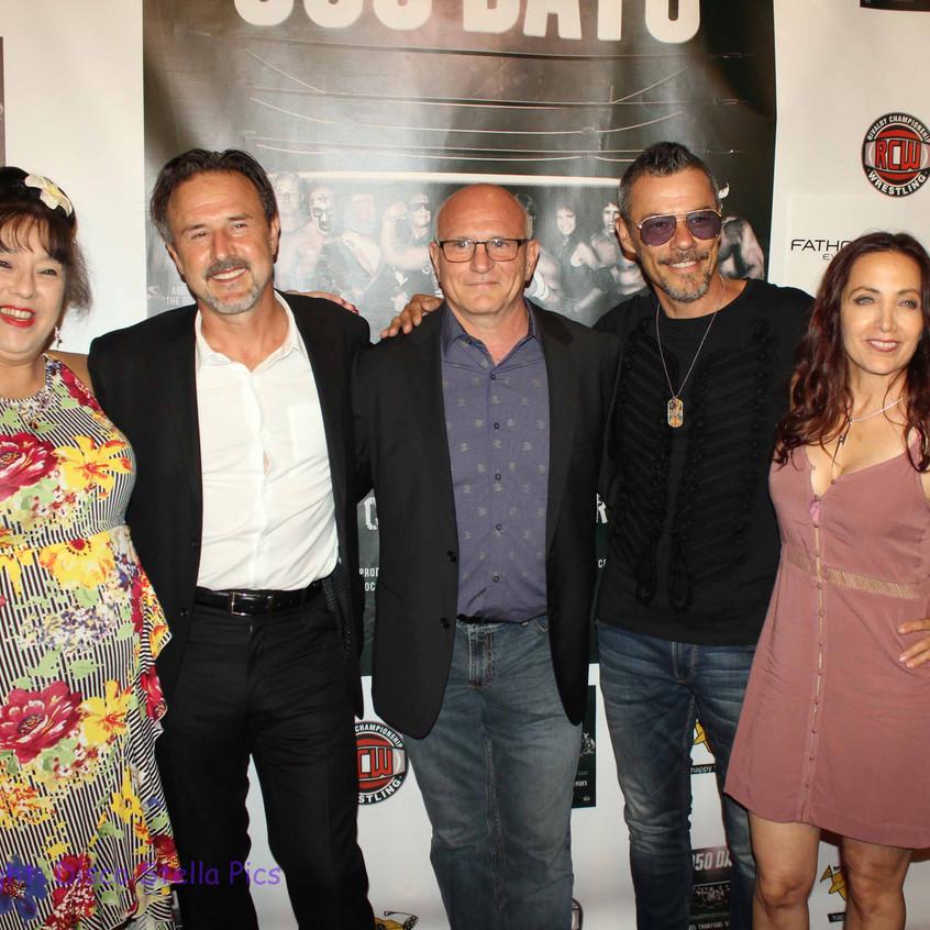 Royall Hawaiian, David Arquette, Filvio Cecere, Massi Furlan and Cheryl Rusa  1