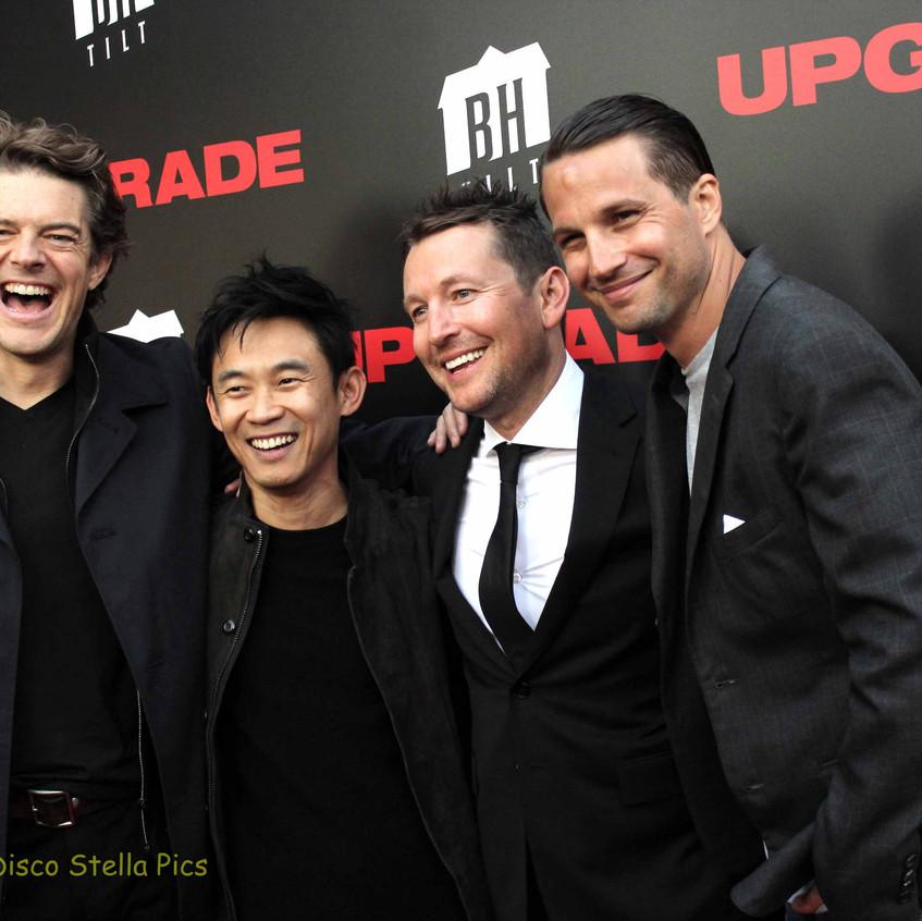 Jason Blum, James Wan, Leigh Whannell and Logan Mashall-Green   5