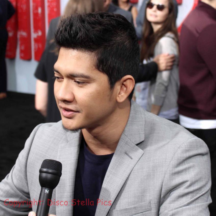 Iko Uwais- Actor - Red carpet interview.