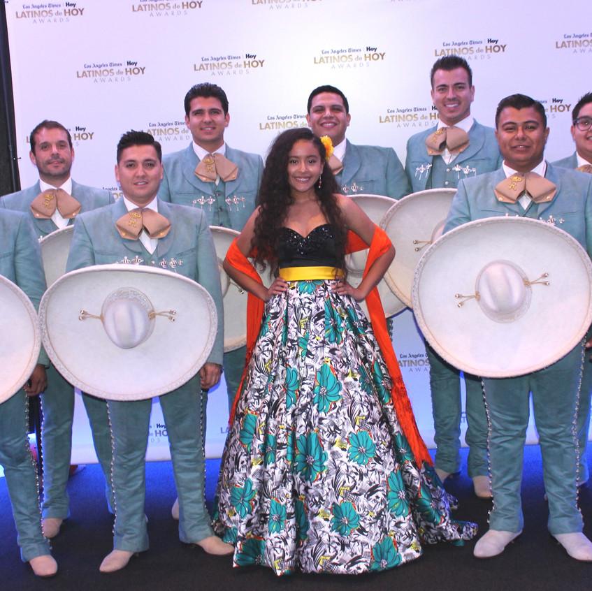 Alondra Yareli and Los Reyes Mariachi