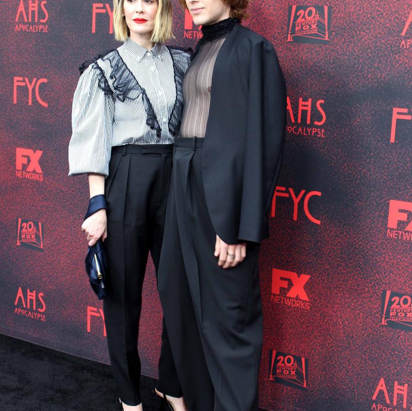 Sarah Paulson and Cody Fern - Cast