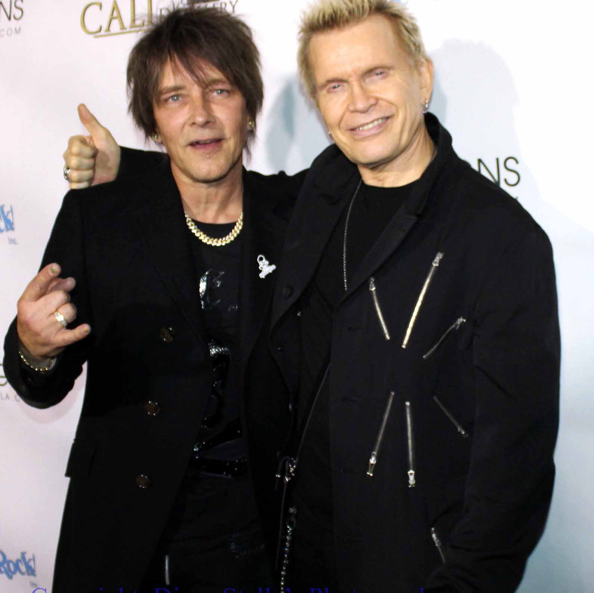 Billy Morrison and Billy Idol...