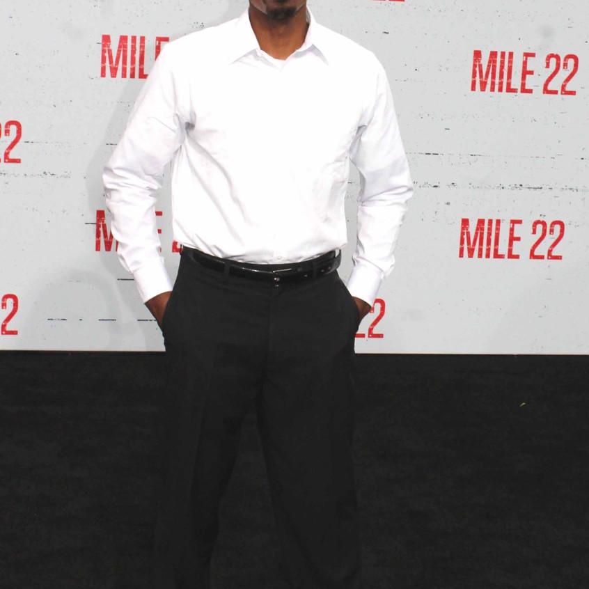 Brandon Scales- Actor - Cast Mile 22