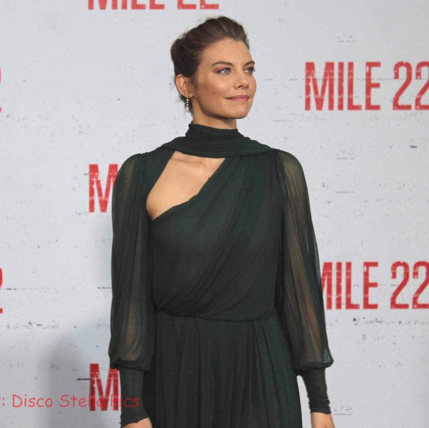 Lauren Cohan- Cast of Mile 22