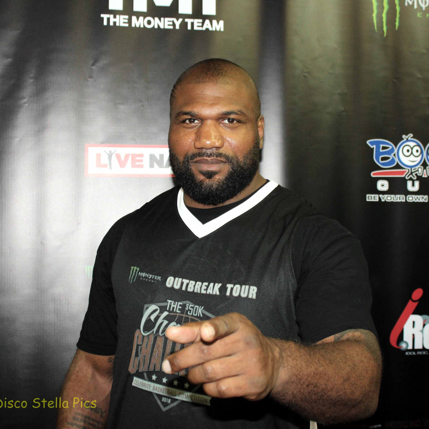 Rampage Johnson - UFC - Player in game