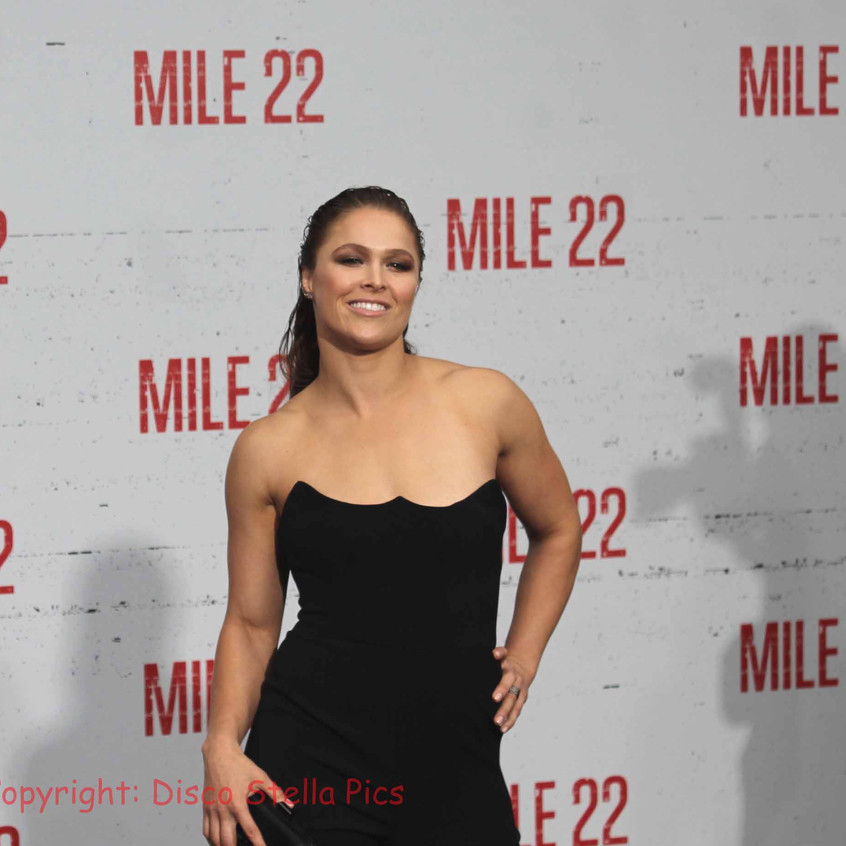 Ronda Rousey - Cast of Mile 22