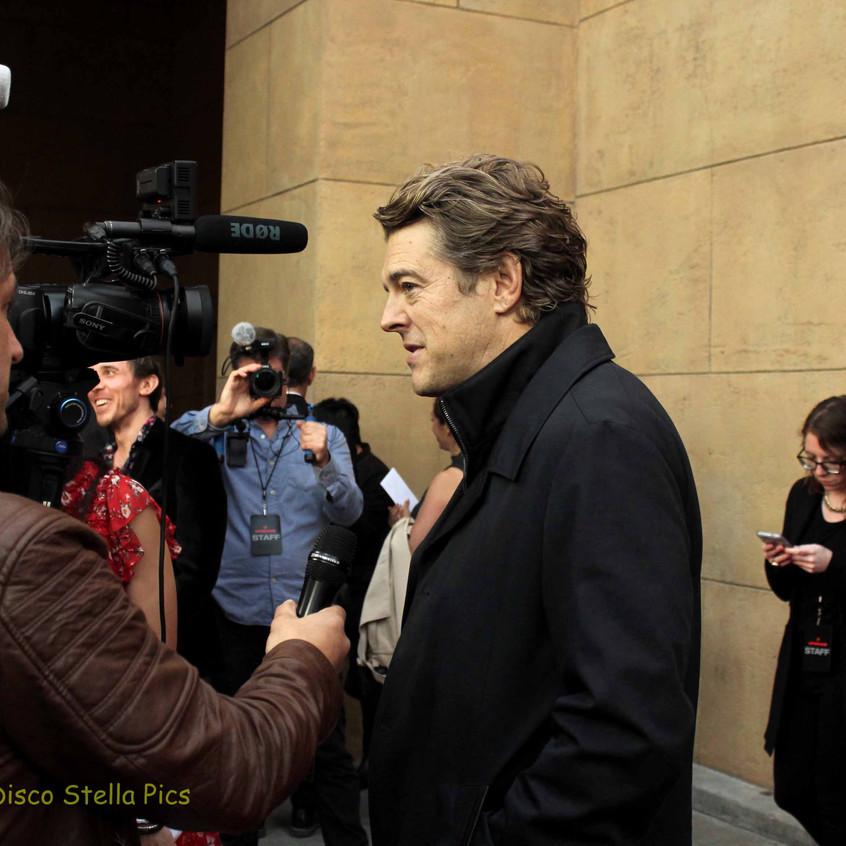 Jason Blum- Producer being interviewed