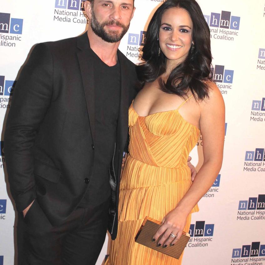 Melissa Fumero and spouse