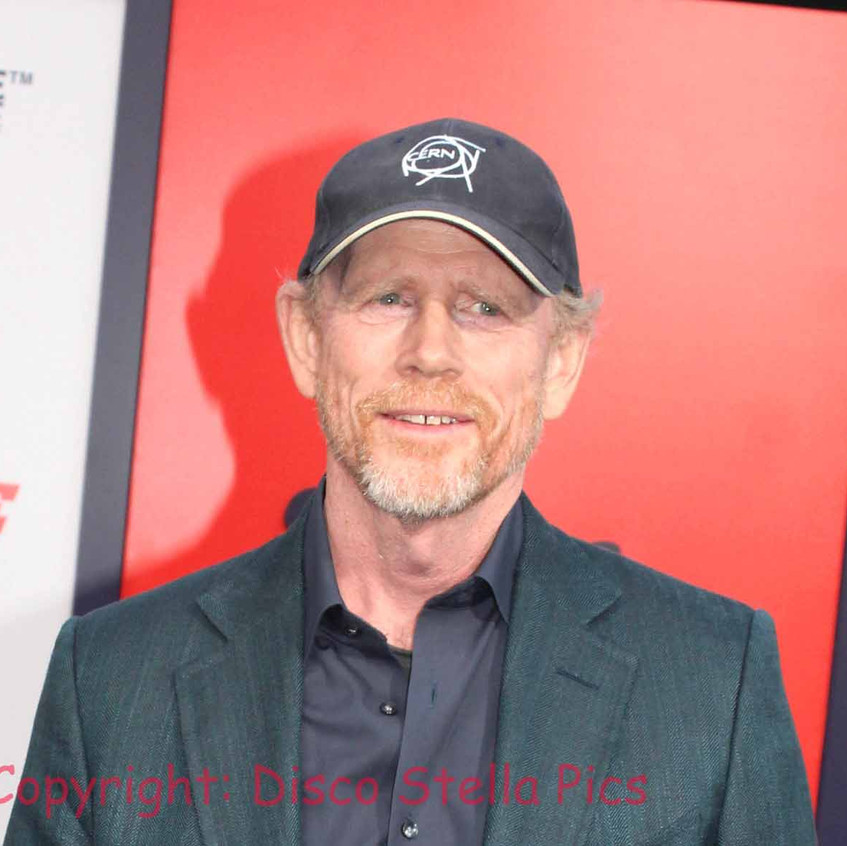 Ron Howard - Director -on the red carprt