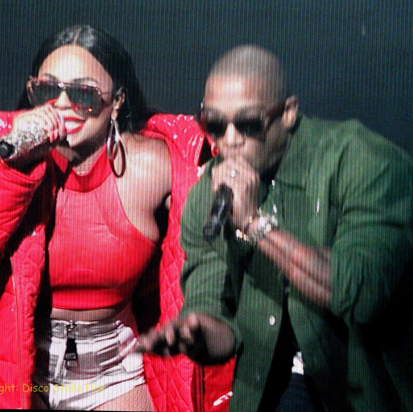Ashanti and JaRule