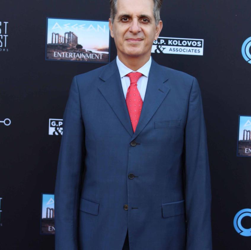 Gregory Karahalios-Consul General of Greece