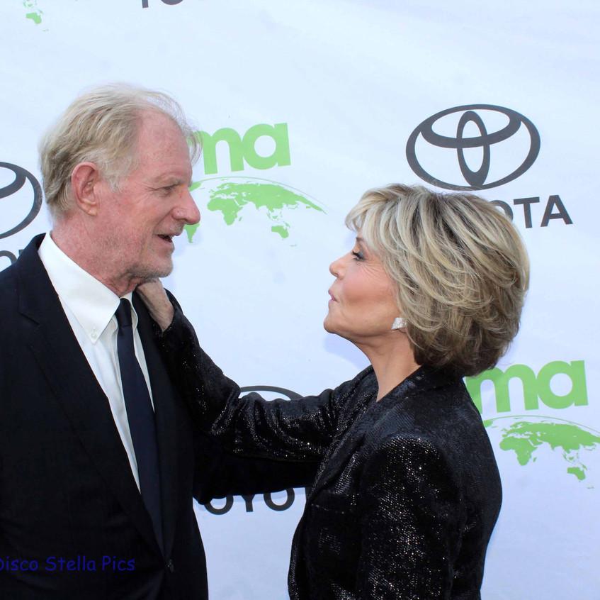Ed Begley Jr. and Jane Fonda 1