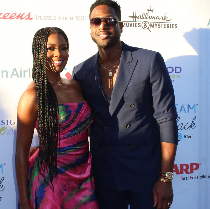 Dwyane Wade and Gabrielle Union - Actres