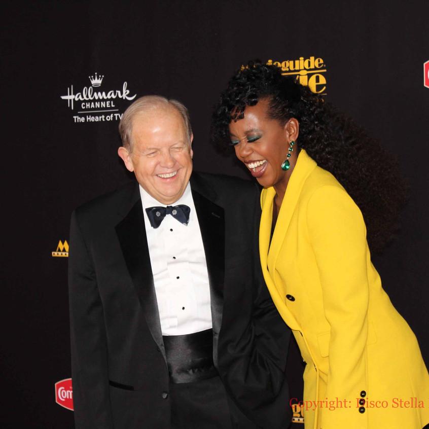 Dr. Ted Baehr and Rukiya Bernard