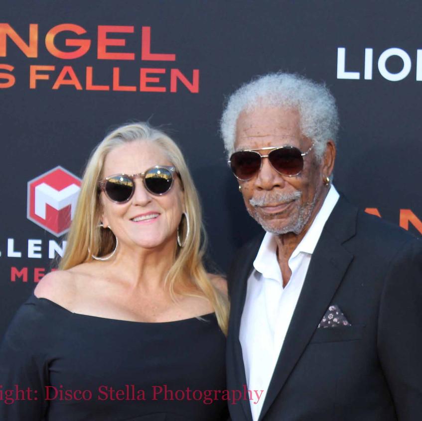 Morgan Freeman - Actor - Cast with guest