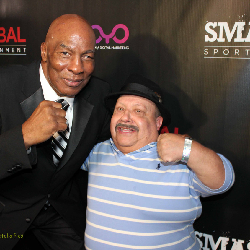 Earnie Shavers - Boxing Legend and Chuy Bravo