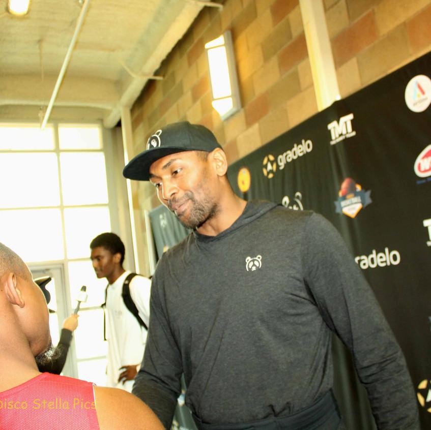 Metta World Peace - Former Basketball Player -interview