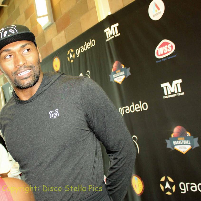 Metta World Peace - Former Basketball Player -interview 1